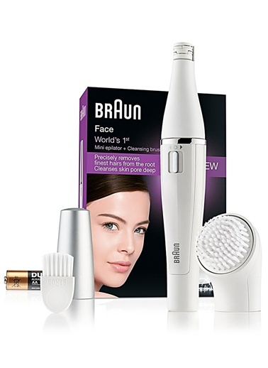 SE810 Face Yüz Epilatörü ve Temizleme Cihazı-Braun